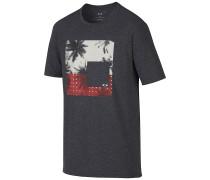 50/50 Palm Scene - T-Shirt für Herren - Schwarz