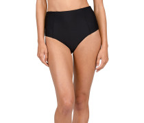 Simply Solid Retro - Bikini Hose für Damen - Schwarz
