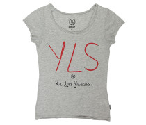 Yisneakers Crew - T-Shirt für Damen - Grau