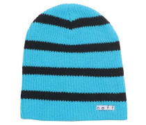 Daily Stripe Mütze - Blau