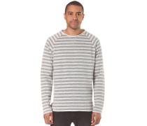 Striped - Langarmshirt für Herren - Grau