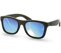 Jalo Mirror Sonnenbrille - Braun