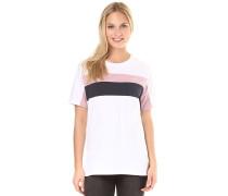 Block - T-Shirt - Weiß