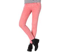 Oily Skinny Colour - Jeans für Damen - Orange