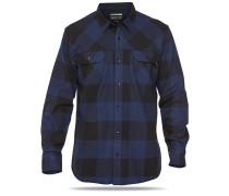 Cascade L/S Flannel - Hemd für Herren - Blau