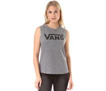 Muscle V - T-Shirt für Damen - Grau