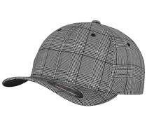 Glen Check Cap - Schwarz
