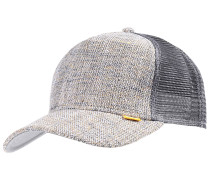 HFT Colored Linen Trucker Cap - Grau