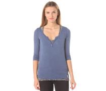 Doubled - Langarmshirt für Damen - Blau