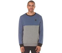 Single Stone Colorblock Crew - Sweatshirt für Herren - Blau