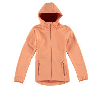 Ayr Girls Rescue Softshell - Funktionsjacke für Mädchen - Orange