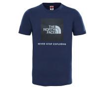 Box T-Shirt - Blau