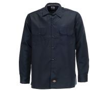 L/S Slim - Hemd - Blau