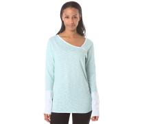 Asym Slub - Langarmshirt für Damen - Blau