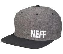 Daily Fabric Snapback Cap - Grau