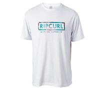 Authentic Surfing - T-Shirt für Herren - Weiß