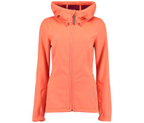 Active Softshell - Funktionsjacke für Damen - Orange