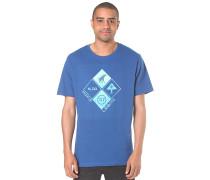RC Clustered Front - T-Shirt für Herren - Blau