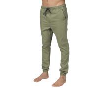 New Order Elastic - Hose für Herren - Grün