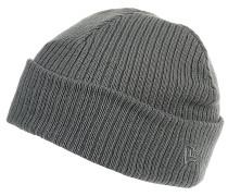 Lightweight Cuff Knit Mütze - Grau