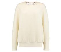 Quilted - Sweatshirt für Damen - Weiß