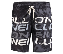 Stacked 3 - Boardshorts - Schwarz