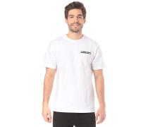 College Script - T-Shirt - Weiß