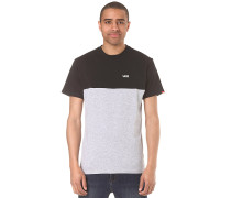 Colorblock - T-Shirt - Schwarz
