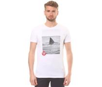 Print - T-Shirt für Herren - Weiß