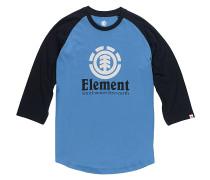 Vertical Raglan - T-Shirt für Herren - Blau