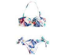 Bandeau/Knotted - Bikini Set für Damen - Mehrfarbig