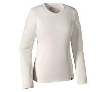 Cap Daily - Langarmshirt für Damen - Weiß
