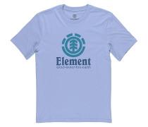 Vertical - T-Shirt - Blau