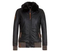 Lattendicht II - Jacke für Damen - Schwarz