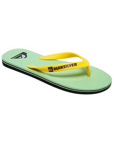 Quiksilver Herren Molokai - Sandalen - Grün