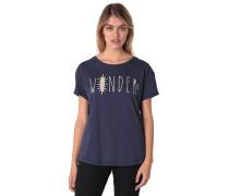 True To This - T-Shirt für Damen - Blau