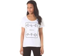 Lity - T-Shirt für Damen - Weiß