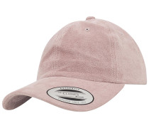 Low Profile Velours Cap - Pink
