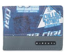 Slim Pu Heritage - Geldbeutel für Herren - Blau