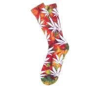 Tie Dye Plantlife - Socken für Herren - Rot