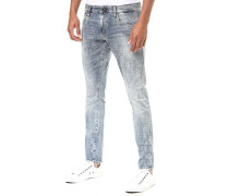 3301 Deconstructed Skinny-Lor Superstretch - Jeans - Blau