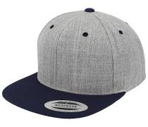 Classic 2-ToneSnapback Cap Grau