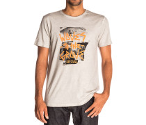 Waves To The Crew - T-Shirt für Herren - Grau