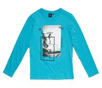 Step By Step - Langarmshirt für Jungs - Blau