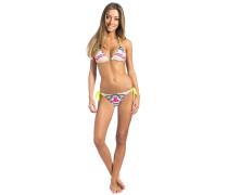 Tribal Myth Triangle Set - Bikini Set für Damen - Mehrfarbig