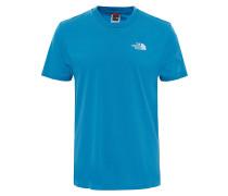 Simple Dome - T-Shirt - Blau