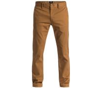 Worker Slim 32 - Stoffhose für Herren - Braun