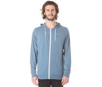 Core Basics Knit - Kapuzenjacke für Herren - Blau