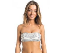 Solstice Bandeau - Bikini Oberteil für Damen - Grau