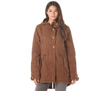 Anytime - Mantel für Damen - Braun